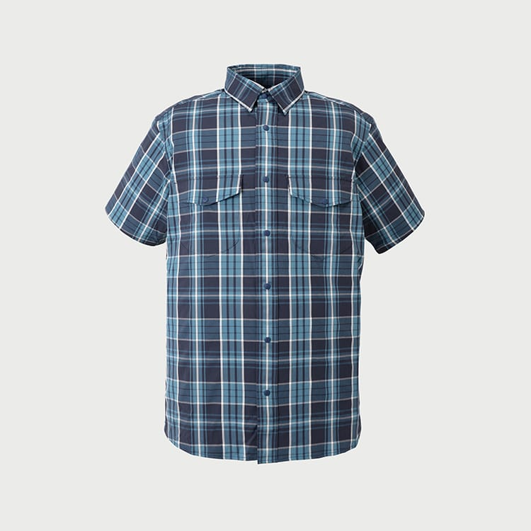 yacuma original check S/S shirts