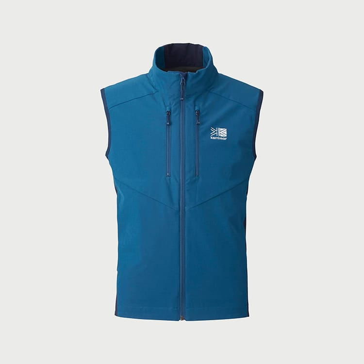 quest softshell vest