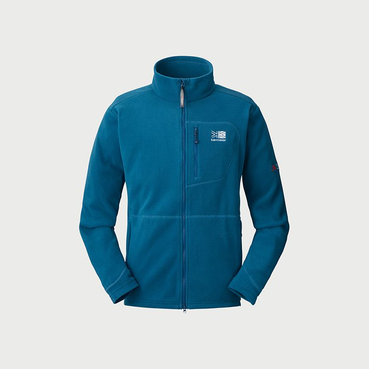 trail zip fleece