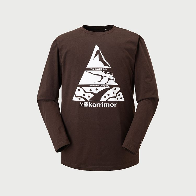 mountain PF L/S T