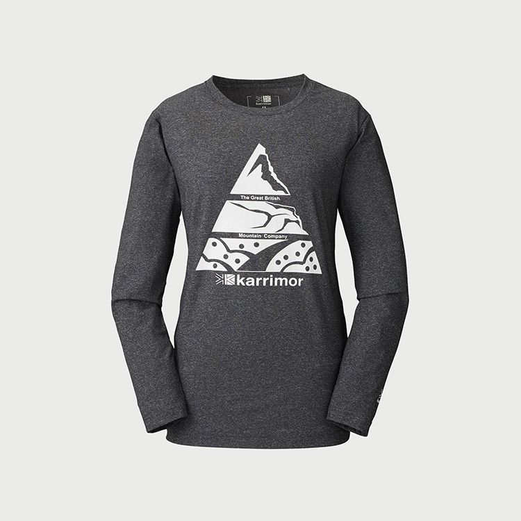 mountain PF W's L/S T