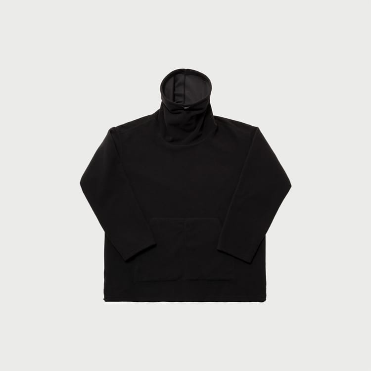 reversible fleece pullover